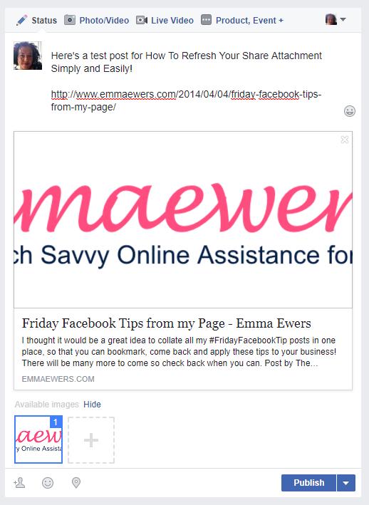 Facebook refresh attachment 1