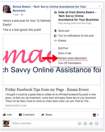 Facebook refresh attachment 3