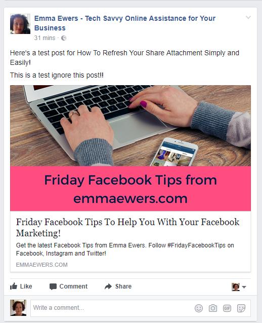 Facebook refresh attachment 5