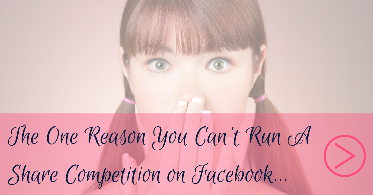 Run Share Competition on Facebook